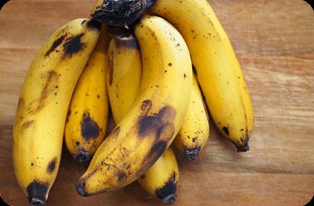 ประโยชน์และสรรพคุณของกล้วยงอมหรือกล้วยสุกงอม