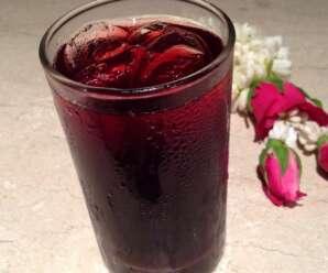 น้ำกระเจี๊ยบแดง รสเปรี้ยวอมหวานทานแล้วสดชื่น แก้กระหายน้ำ