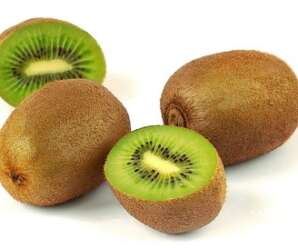 กีวี เป็นผลไม้ที่เก็บไว้ได้นาน เนื้อสีเขียว ชุ่มน้ำ รสเปรี้ยวอมหวาน เป็นผลไม้ที่เก็บไว้ได้นาน