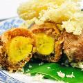 ข้าวเม่าทอดไส้กล้วยไข่ แปรรูปกล้วยไข่เป็นขนมไทย พร้อมวิธีทำ