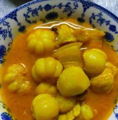 แกงส้มมังคุด