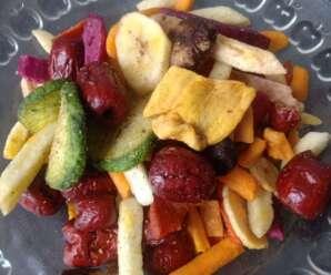 ผักและผลไม้อบกรอบรับประทานอย่างไรให้เกิดประโยชน์